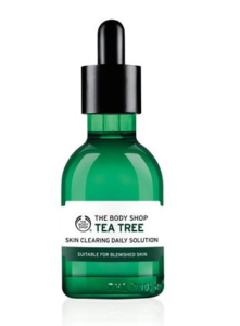 Tea Tree Skin Cleaning Solution of body shop