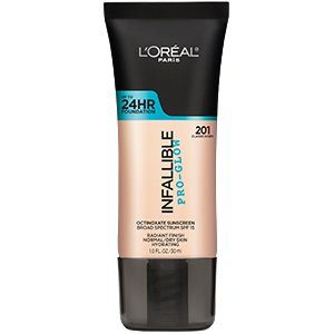 L'Oréal Paris Infallible Pro-Glow Foundation for dry skin